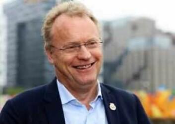 Byrådsleder Raymond Johansen og byrådet vil likevel ikke innføre meldeplikt for tiggere i hovedstaden. Foto: Bernt Sønvinsen / Arbeiderpartiet