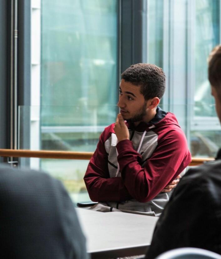 �Minoriteens er en serie om ungdom og det som er viktig for ungdom, sier Ilyas Bertal. Foto: Stig Jensen