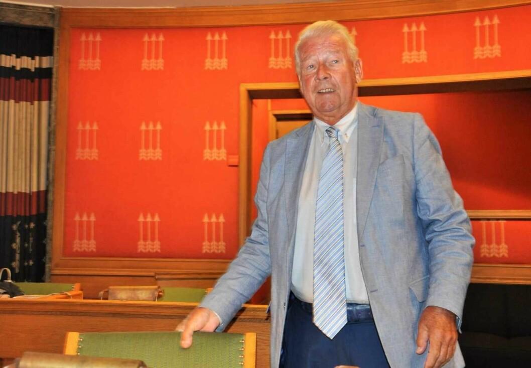 Carl I. Hagen hevder 193 eldre står i sykehjemskø bare i Ullern bydel. � Ingen eldre i Oslo står i sykehjemskø, sier byrådet. Foto: Arnsten Linstad