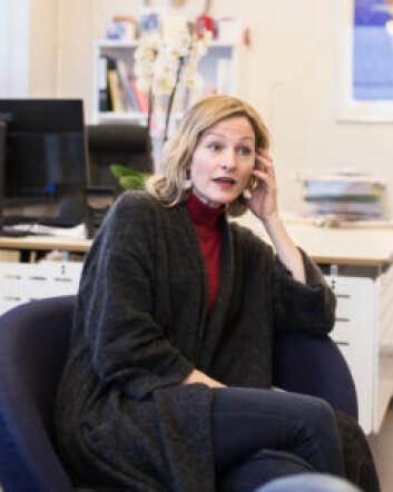 Inga Marte Thorkildsen vil gå i dialog med elevene om innholdet i ungdomsskolen. Foto: Stig Jensen