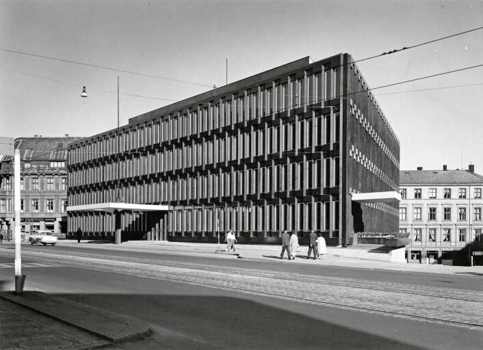 Ambassaden ble åpnet i 1959. Foto: Karl Teigens Fotoatelier / DEXTRA Photo
