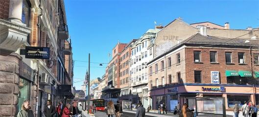 To av de mest nedslitte sentrumsgatene får nå et løft. Bystyret har bevilget 1 milliard til opprustning av Storgata og Thorvald Meyers gate