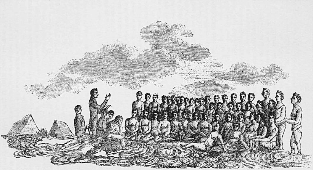 Fremdeles ser europeere på Afrika som upløyd mark, som i kolonitiden. Illustrasjon: Wikimedia Commons