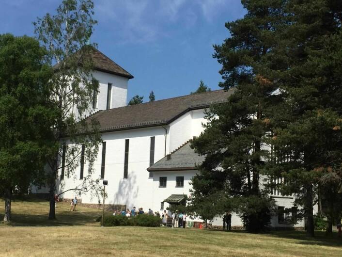 Grefsen kirke er vakker. Foto: Kjersti Opstad