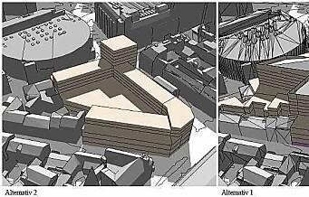 Olav Thons plan om stjerneformet gigantbygg i Gunerius-kvartalet slaktes av kommunen