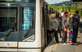 Full stans i T-banetrafikken i Oslo