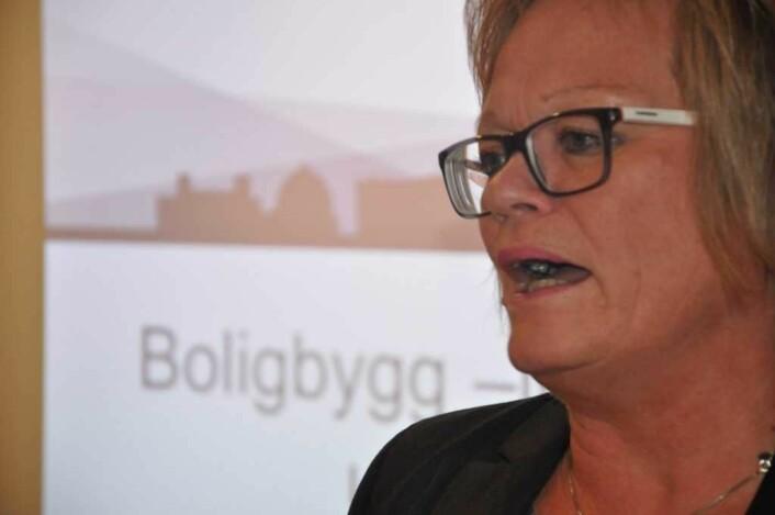 Når Deloittes rapport er klar, starter kommunerevisor Unn H. Aarvold og hennes stab en egen, ny gransking av Boligbygg. Foto: Arnsten Linstad