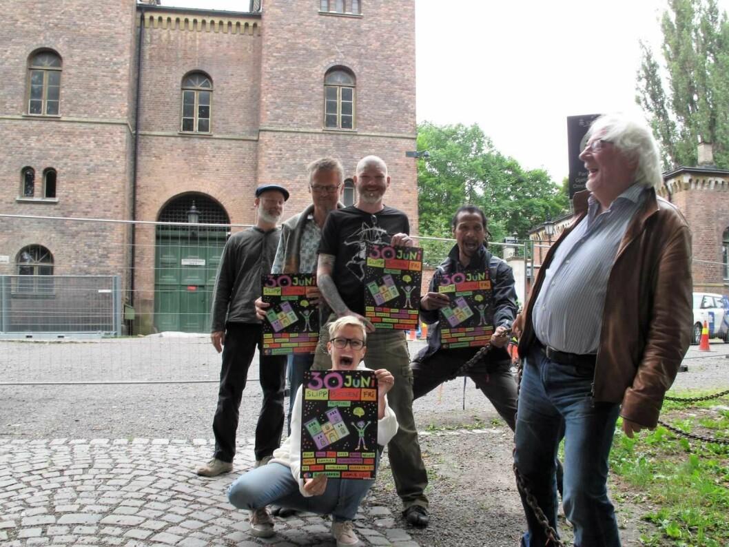 Nedlagte Botsen ha stått tom i ett år. � Fengselet bør huse kulturaktiviteter, sier initiativtakerne bak gratisfestivalen Slipp Botsen fri på lørdag. Foto: Tor A. Svendsen