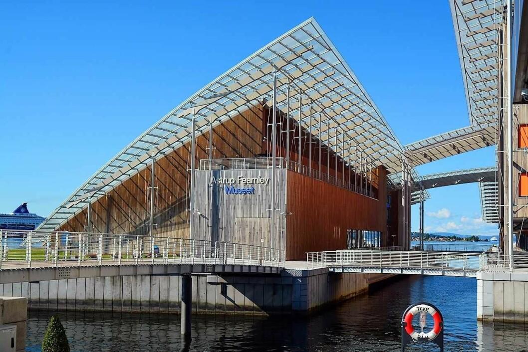 Arkitekten Renzo Piano tegnet Astrup Fearnley-museet som åpnet på Tjuvholmen i 2012. De to bygningene er blitt en av Oslos mange nye arkitektur-attraksjoner. Foto: George Rex/Flickr