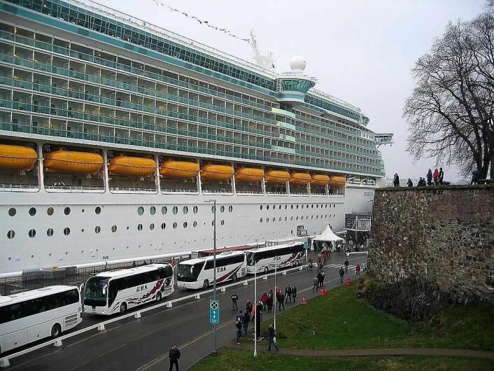 Mens antallet turister til Oslo viser en god økning, har antallet cruisepassasjerer gått ned siden gullårene 2011 og 2012. Foto: Bernt Rostad / flickr.com