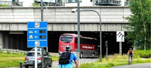 Budsjettsprekk på 37 milliarder i Oslopakke 3 kan føre til ny prisøkning i bomringen