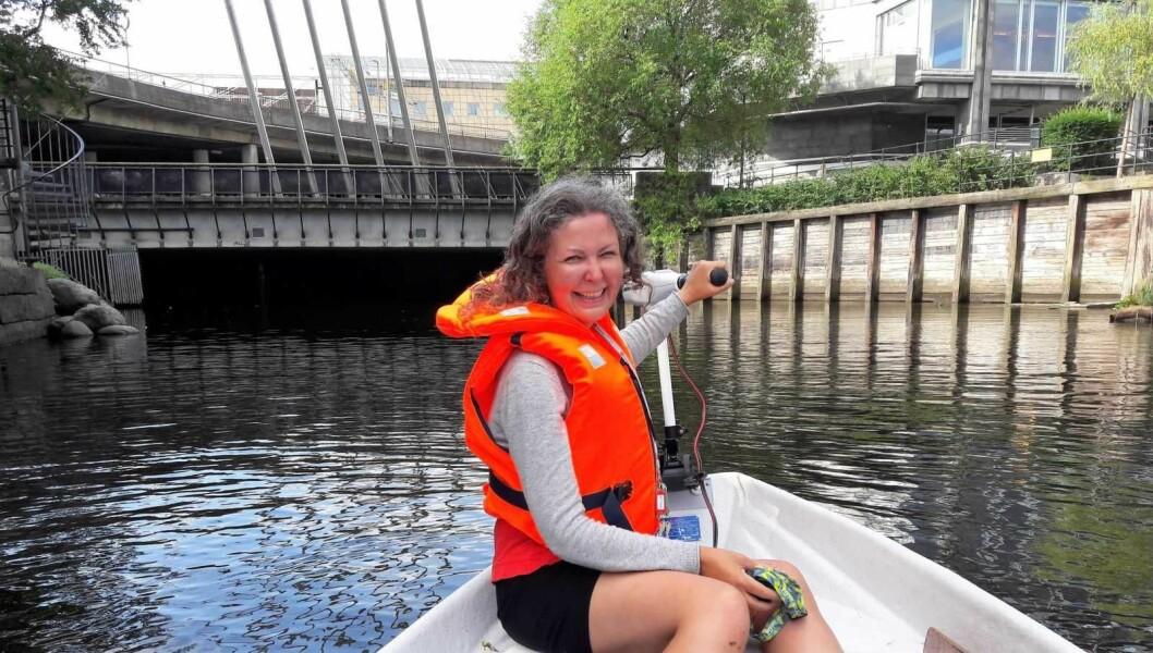 Marit Bredesen i JOY er klar for å gi båtopplevelser også til de som ikke har råd til egen båt. Foto: Anders Høilund