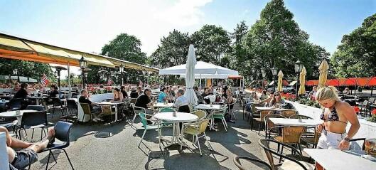 Uteserveringen på St. Hanshaugen åpner igjen meget snart