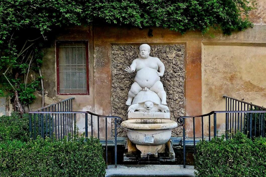 Ryktene skulle ha det til at kortvokste Pietro Barbini, modellert av skulptøren Valerie Cioli i 1560, skulle ri over Carl Berner. Foto: Darren & Brad / Flickr