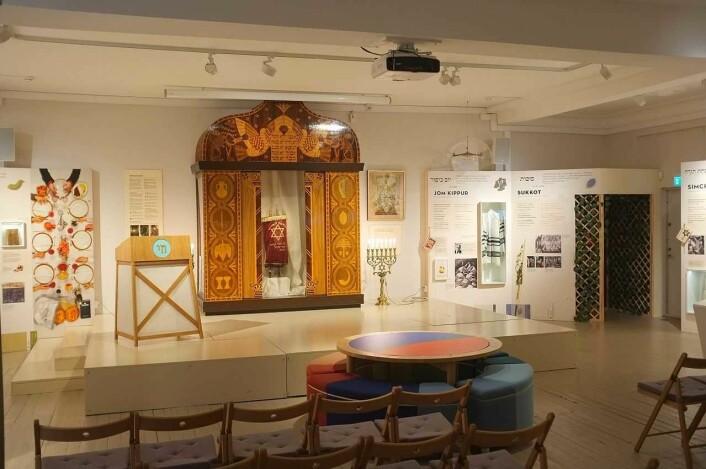 Jødisk historie, religion og kultur blir vist frem og forklart i Jødisk museum i Oslo. Foto: Jødisk museum