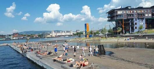 Sørenga sjøbad stenges torsdag på grunn av kloakkutslipp