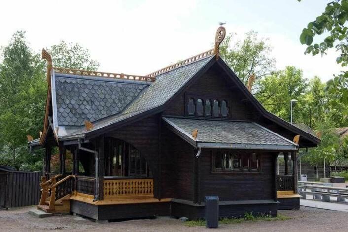 På Folkemuseet kan du se en ventehall fra Piperviken i Oslo. Foto: Anne-Lise Reinsfelt