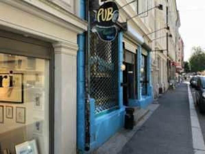Underwater Pub holder til i Dalsbergstien 4C på St. Hanshaugen. Men ikke for mye lenger. Foto: Stian Maurveg