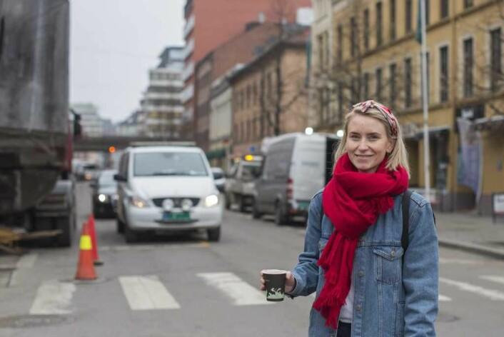 Leder av bydelsutvalget i Gamle Oslo, Line Oma. Foto: Morten Lauveng Jørgensen