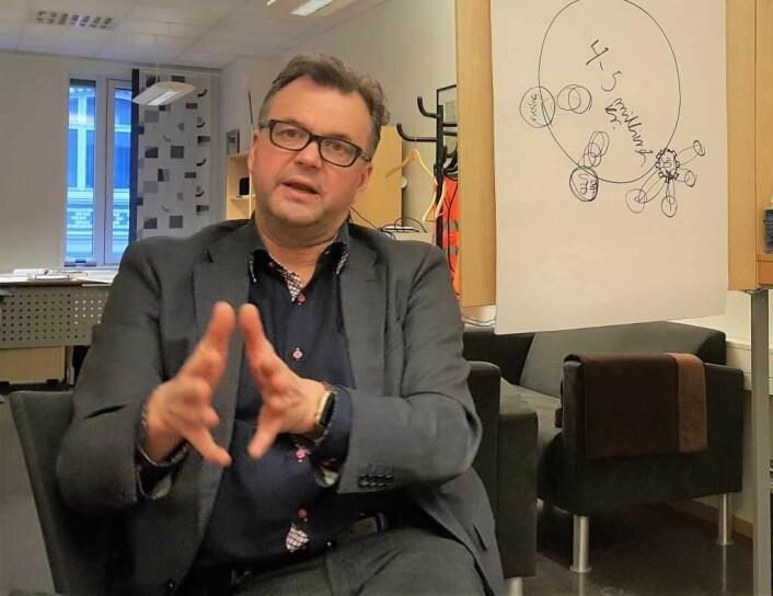 Bydelsdirektør Tore Olsen Pran i Gamle Oslo opplyser at Johanna Engens sak skal behandles en gang til. Foto: Tarjei Kidd Olsen