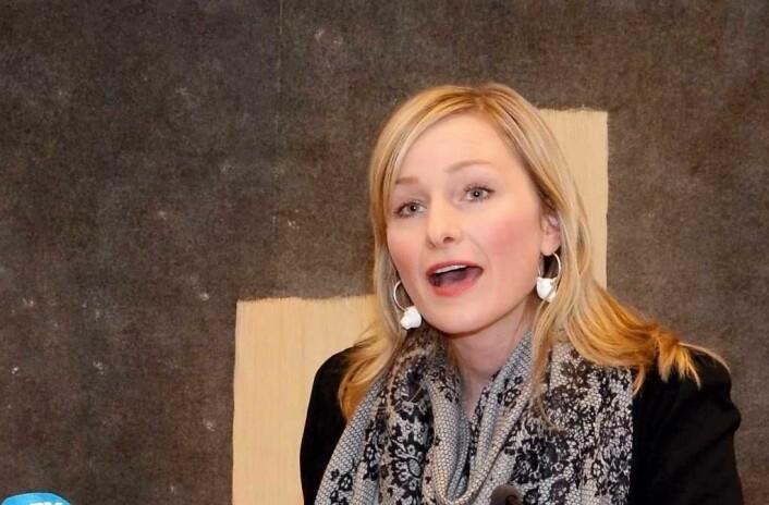 Da Inga Marte Thorkildsen (SV) var sosialbyråd endret hun reglene slik at folk som Johanna Engen skal kunne bli boende i sine kommunale leiligheter. Foto: Likestillingsdepartementet