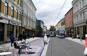 Fra i dag er den store oppgraderingen av Thorvald Meyers gate i gang