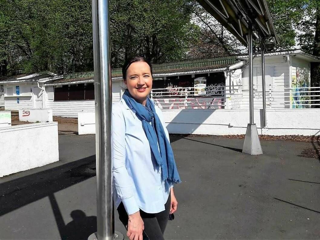 Lederen av bydelsutvalget på St. hanshaugen, Anne Christine Kroepelien, retter en urimelig hard kritikk mot Lan Marie Nguyen Berg, mener skribenten. Foto: Anders Høilund