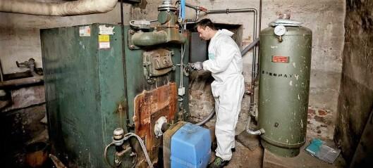 Nå haster det å bli kvitt oljefyren. Snart er det slutt på pengestøtten fra kommunen
