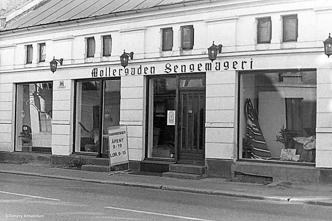 Møllergaden sengemageri. Foto: Tommy Amundsen