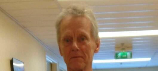 Hva har skjedd med savnede Håkon? Politiet har gjort flere søk uten å finne spor av 76-åringen