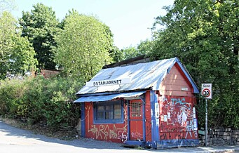 OBOS vil rive den gamle kiosken på Sotahjørnet og bygge boligblokker