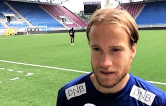 Engas Bård Finne før kampen mot Sandefjord: — Nå er det på tide å vinne hjemme