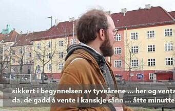 Da gentrifiseringen inntok området rundt Lilleborgbanen