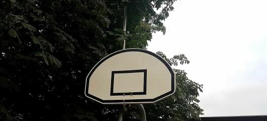 Sterke reaksjoner på at Undervisningsbygg har fjernet basketkurvene ved sentrumsskoler i sommer
