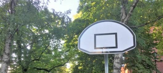 Kommunen snur om basketkurvene: Byråd Kjetil Lund instruerte i dag Undervisningsbygg om at basketkurvene ikke skal ned om sommeren