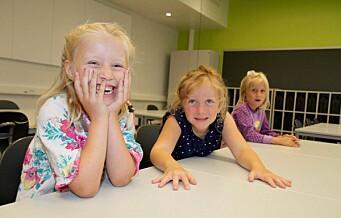 – På mandag begynner om lag 7 000 nye førsteklassinger på skolen i Oslo. Velkommen