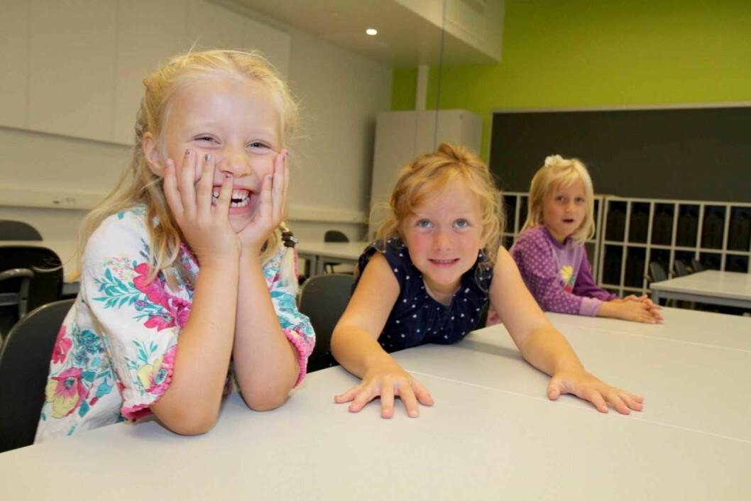 På mandag er det skolestart for årets 1. klassinger. Foto: Oslo kommune.