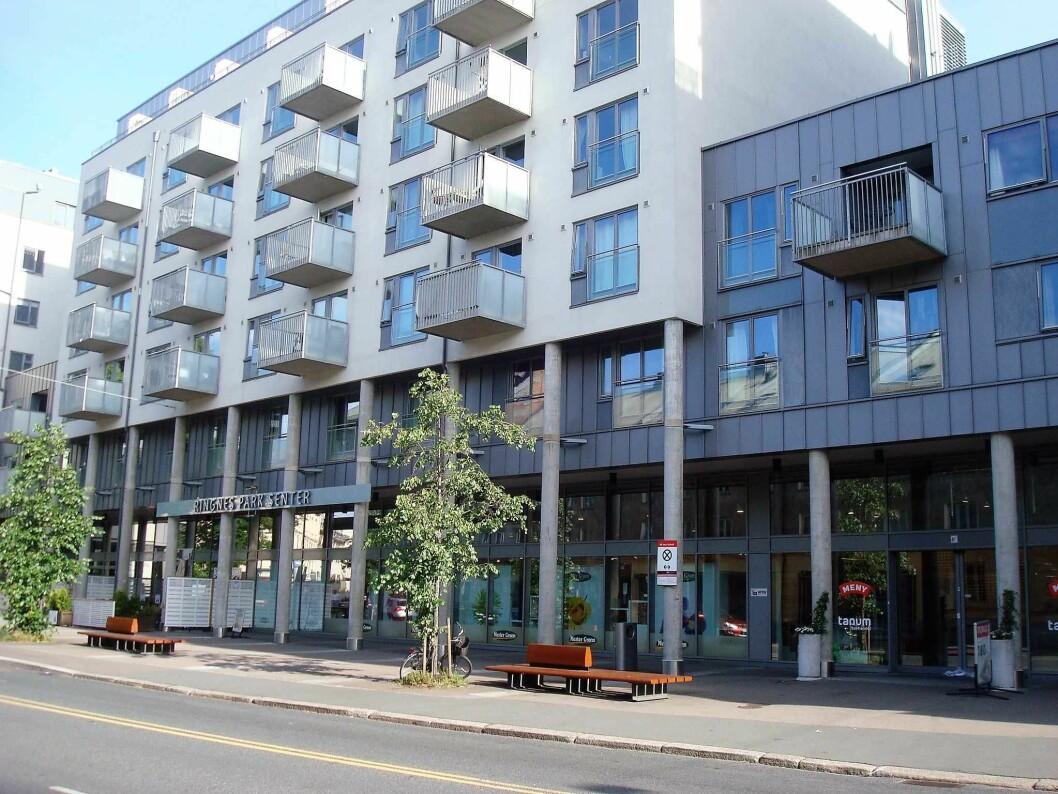 Store boligprosjekter som Ringnes Park bør i framtiden bygges med krav til billige utleieboliger som en del av prosjektet mener forskere og arkitekter. Foto: Ole Andreas Flatmo / Wikimedia Commons