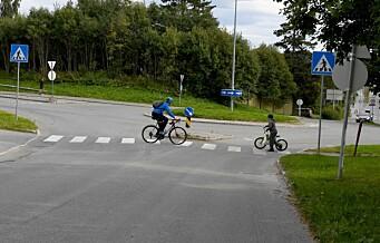 Skolestart gir ulykkeshopp i trafikken, og Oslo ligger på ulykkestoppen
