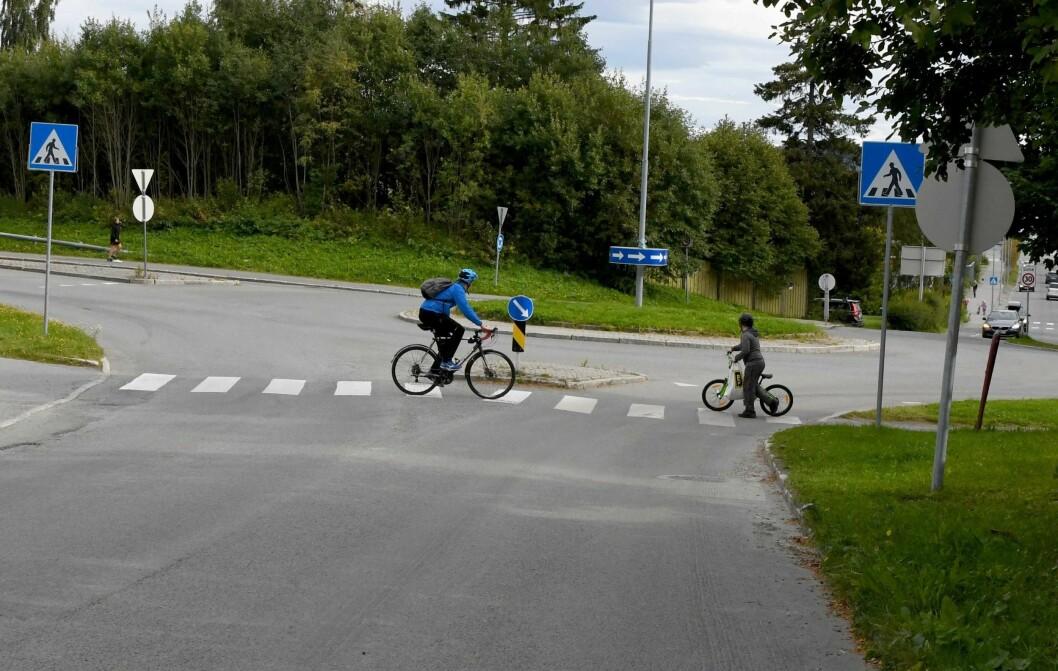Oslo topper listen over ulykker hvor barn er kommet til skade i trafikken. Foto: Knut Opeide, Statens Vegvesen