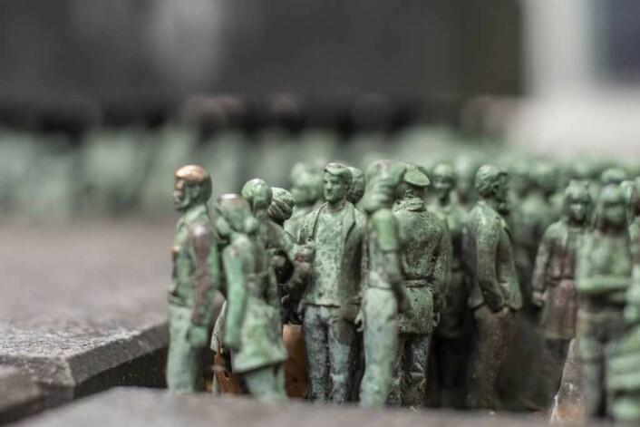 400 individuelle motiver har kunstneren laget til det fascinerende verket Grass Roots Square. Foto: Morten Lauveng Jørgensen