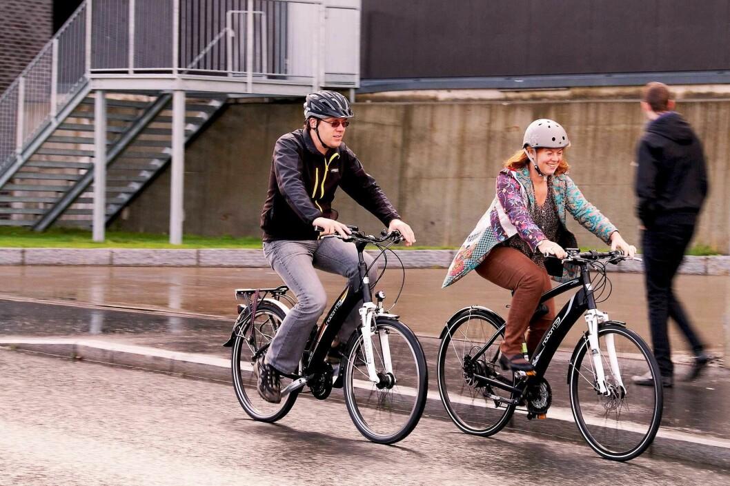 Oslo får stadig flere syklister. Foto: Norsk Elbilforening