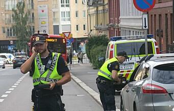 Bilist tatt i 80 km/t forbi skole. Oslopolitiet fortsetter med Aksjon skolevei.