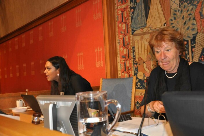 � Etter 18 år er det naturlig å vurdere lønssystemet for Oslos politikere, mener ordfører Marianne Borgen (SV). Hun tjener nå 1.365.016 kroner i året. Varaordfører Khamshajiny Gunaratnam (Ap) får tilsammen 938.632 kroner årlig. Foto: Arnsten Linstad