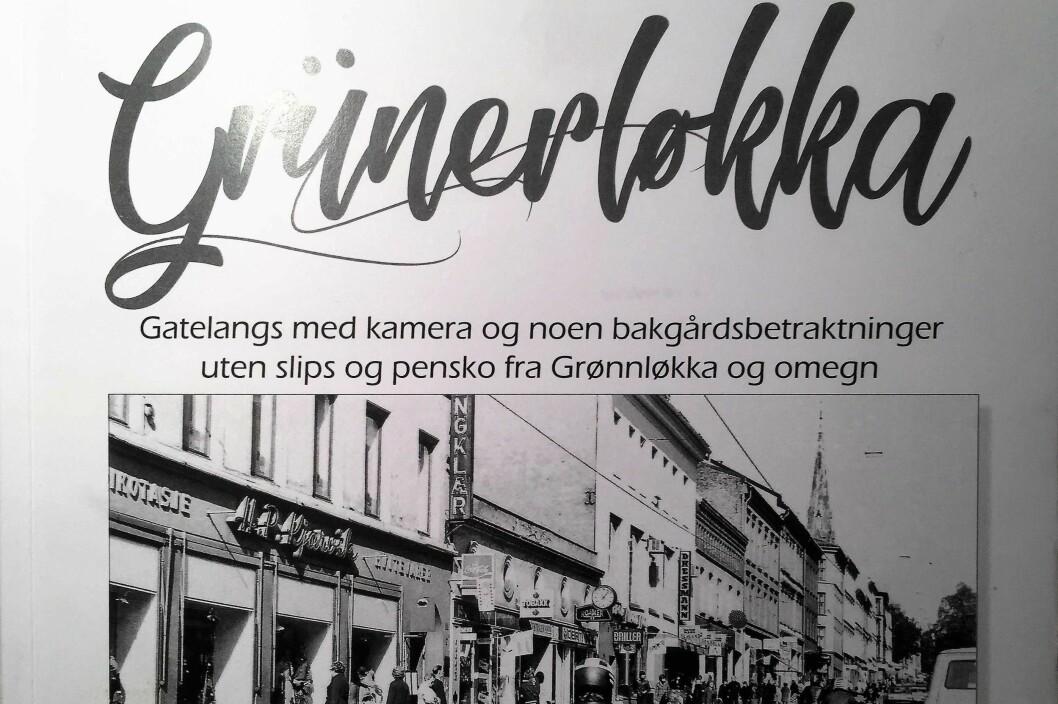 Terje Børjesson og Tommy Amundsen har laget en bok om Grünerløkka som er full av følelser. Foto: Vegard Velle