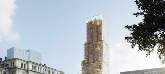 Et nytt høyhus på høyde med Postgirobygget er foreslått ved Oslo S.