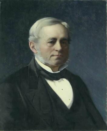 Ordfører og høyesterettsdommer Otto Joachim Løvenskiold (1811-1882). Maleri: Asta Nørregaard. Kilde: Oslo museum