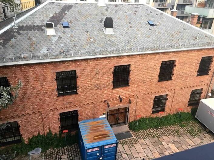Dette lokalet har vært brukt til kurslokale og ølsmaking siden 2001. Foto: Marianne Husum