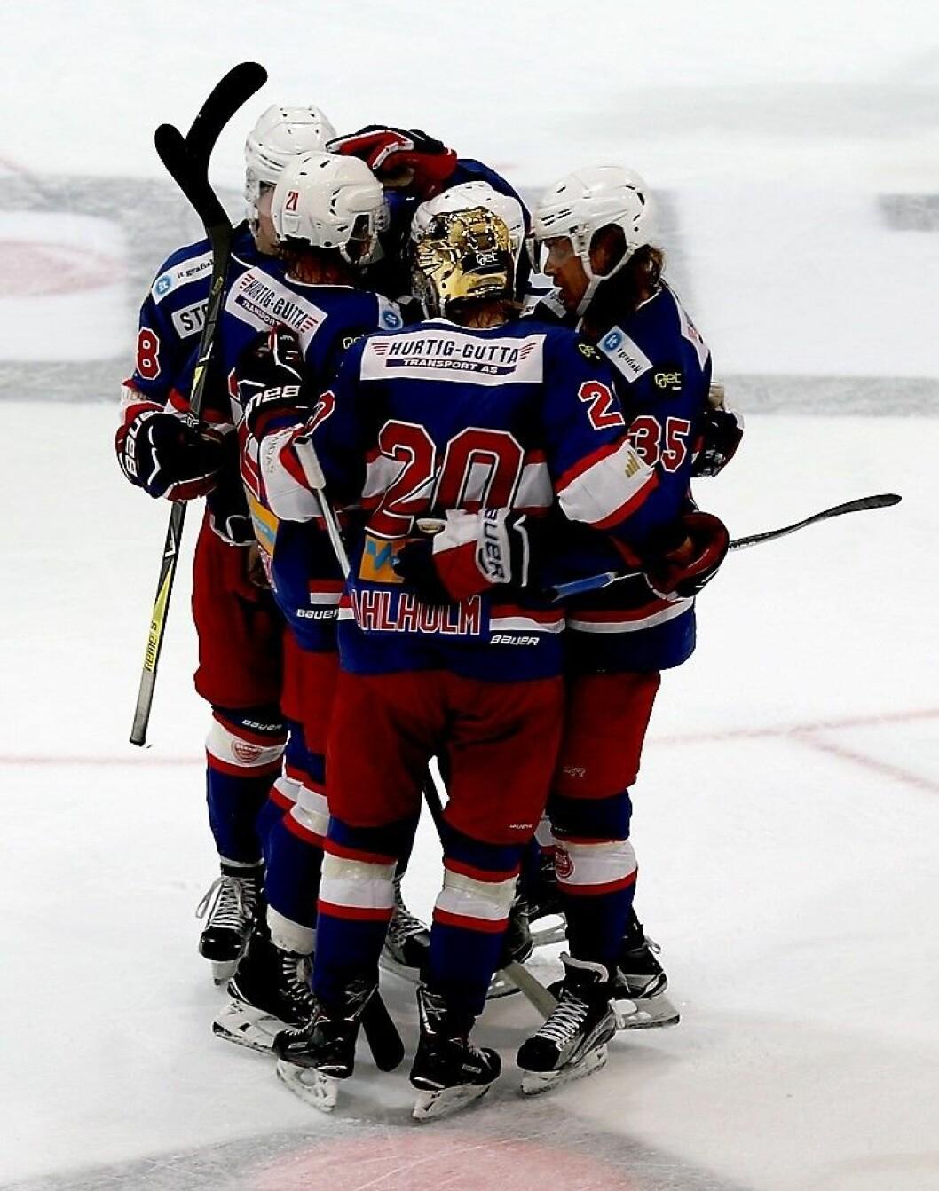 VIF hockey stiller med et sterkt hockey-mannskap foran sesongen. Foto: Atle Enersen