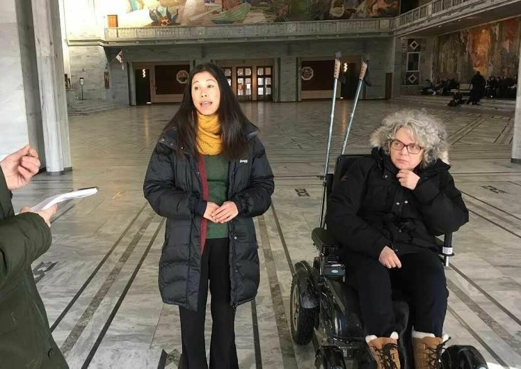 Byrådet vil prioritere parkeringsplasser for handikappede, sier skribentene. Foto: Ida Freng / Handikapforbundet